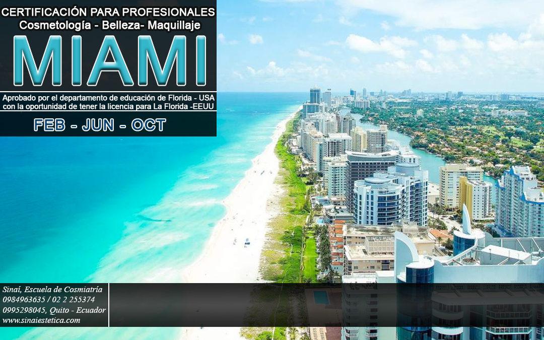 Revalidación Cosmetología, Belleza, Maquillaje en Miami – EEUU